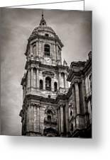 Malaga Cathedral Greeting Card