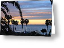 Malaga Sunrise Greeting Card