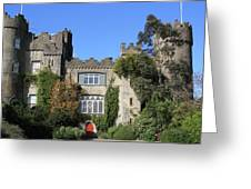 Malahide Castle No 2 Greeting Card