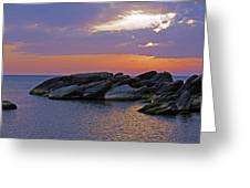 Malawi Sunrise Greeting Card