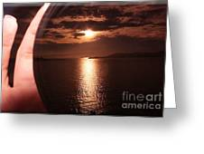 Malaysian Sunset Greeting Card