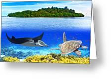 Maldives Greeting Card