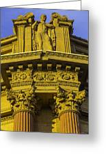 Male Statue Palace Of Fine Arts Greeting Card