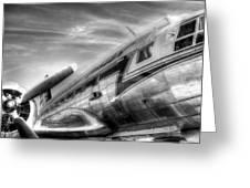 Malev Airlines Ilyushin Il-14 Greeting Card