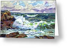 Malibu Cove Greeting Card