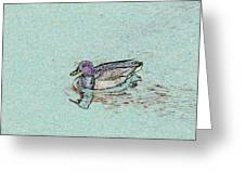 Mallards Edge Greeting Card