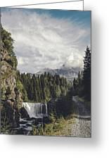 Mallero Mountain Creek - Chiesa In Valmalenco - Lombardia - Italy Greeting Card