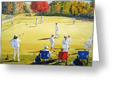 Mallet Masters Greeting Card by Shirley Braithwaite Hunt
