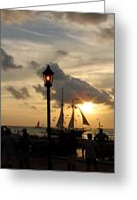 Mallory Square Key West Greeting Card