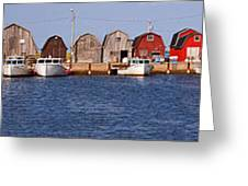 Malpeque Harbour Panorama Greeting Card