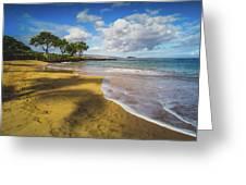 Maluaka Beach Greeting Card