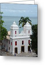 Mam In Salvador Da Bahia Brazil Greeting Card