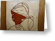 Mama 5 - Tile Greeting Card