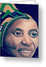 Mama Afrika Greeting Card