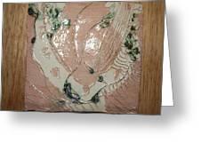 Mama Cares - Tile Greeting Card