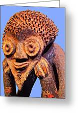 Mambila Figure Greeting Card