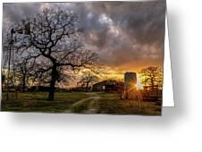 Mambrino Ranch Greeting Card