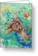 Mamma's Hands Greeting Card