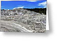 Mammoth Hot Springs2 Greeting Card