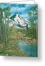 Mammoth Mountain Greeting Card