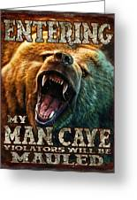 Man Cave Greeting Card by JQ Licensing