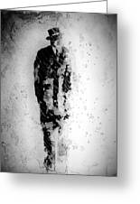 Man In A Hat Greeting Card