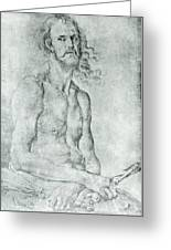 Man Of Sorrow 1522 Greeting Card