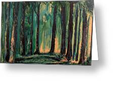 Man Of The Forest Greeting Card