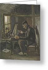 Man Winding Yarn Nuenen, May - June 1884 Vincent Van Gogh 1853  1890 Greeting Card