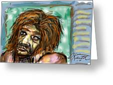Man Without Hope Greeting Card