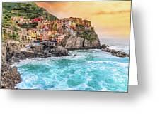 Manarola - Cinque Terre National Park - Liguria - Italy Greeting Card