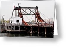 Manasquan Bridge Greeting Card