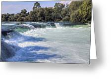Manavgat Waterfall - Turkey Greeting Card