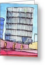 Manchester Embankment 1 Greeting Card