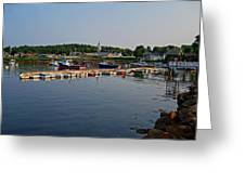 Manchester Harbor Manchester By The Sea Ma Greeting Card