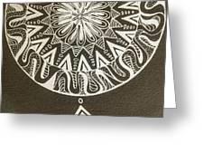 Mandala 001 Greeting Card