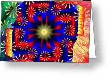 Mandala 15 Greeting Card