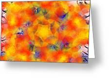 Mandala 3 Greeting Card
