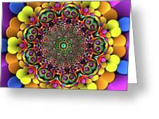 Mandala 46756767856 Greeting Card