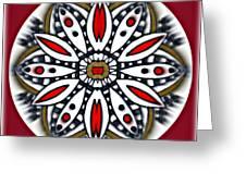 Mandala 66 Greeting Card