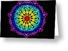 Mandala 7 Greeting Card