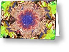 Mandala 9 Greeting Card