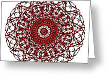 Mandala - Amulet 868 For Those Born In ..... Greeting Card