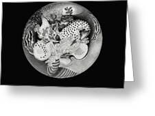 Mandala Greeting Card by Ann Powell
