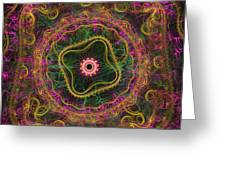 Mandala Desire Greeting Card