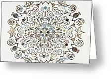 Mandala Earth And Water 4 Greeting Card