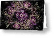 Mandala Meditation Greeting Card