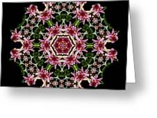 Mandala Monadala  Lisa Greeting Card