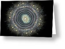 Mandala Movement Greeting Card