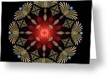 Mandala No. 4 Greeting Card